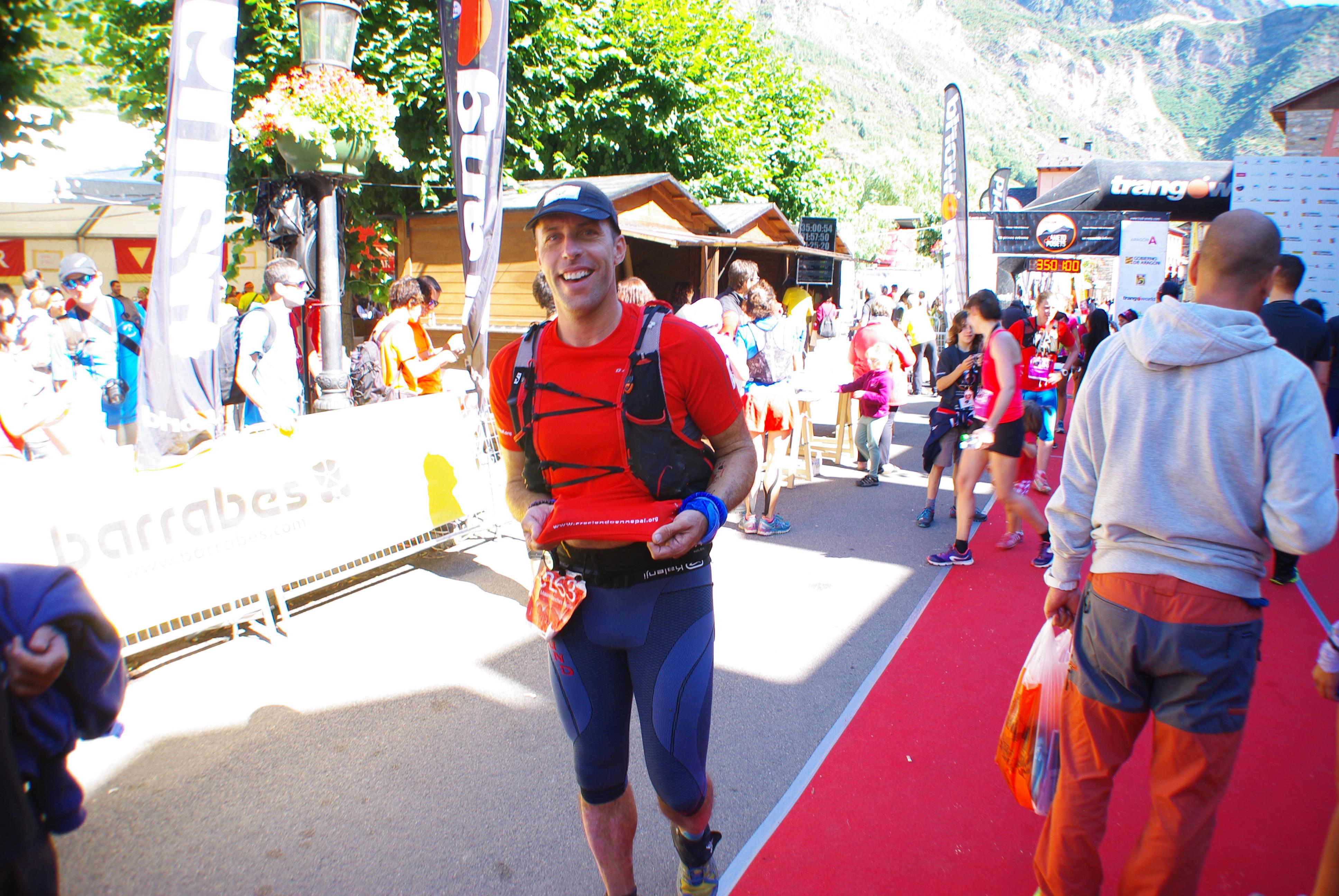Así fue la carrera solidaria Gran Trail Aneto-Posets de Auro Sánchez