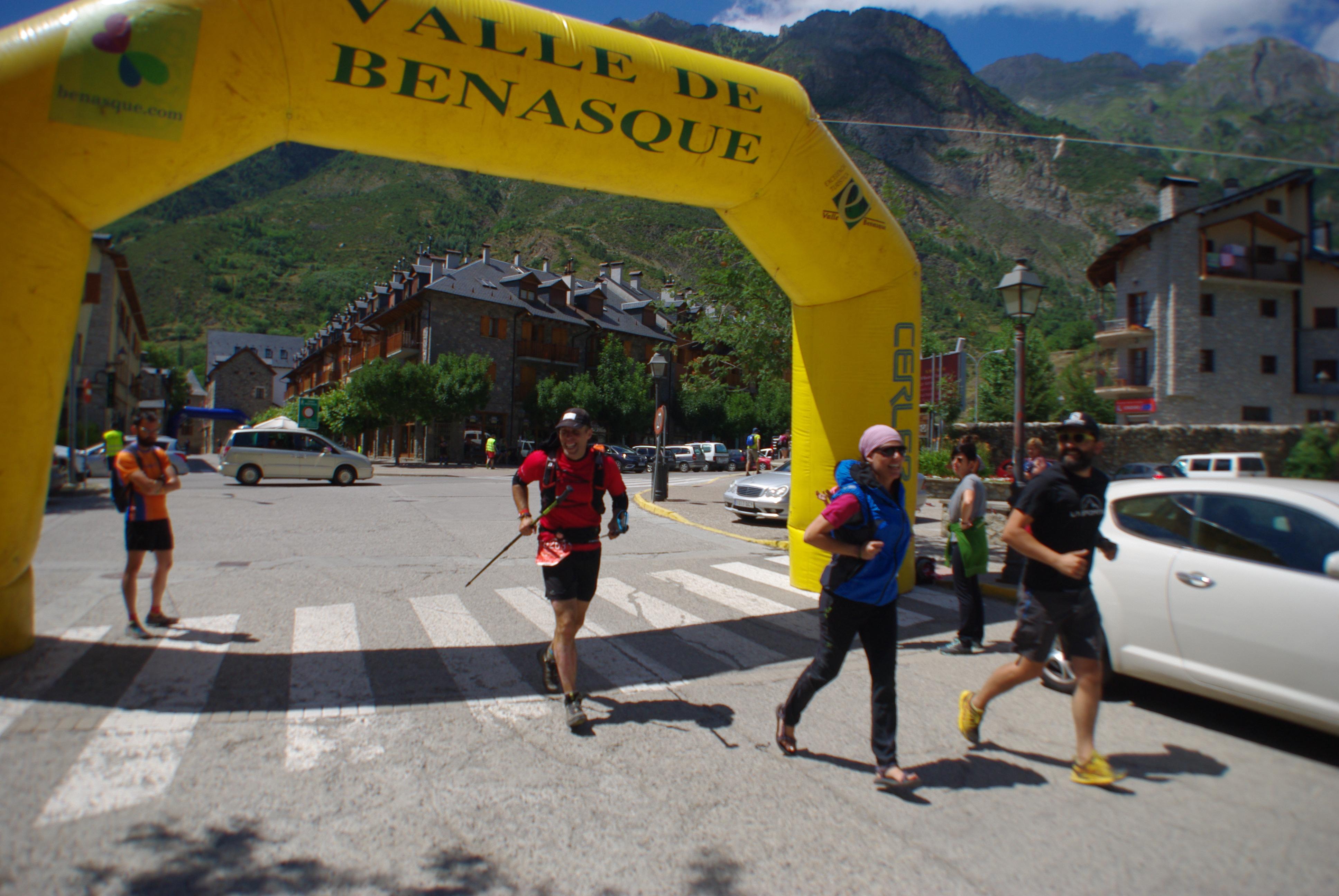 Carrera solidaria en Huesca: 108 kilómetros, 108 mantras