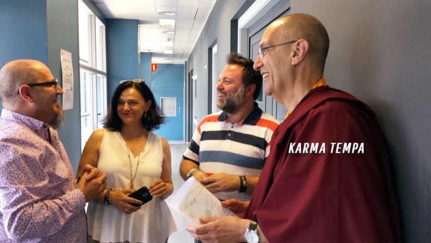 Acompáñanos el próximo 17 de diciembre a un una sesión especial de meditación que dará nuestro presidente y fundador Karma Tenpa