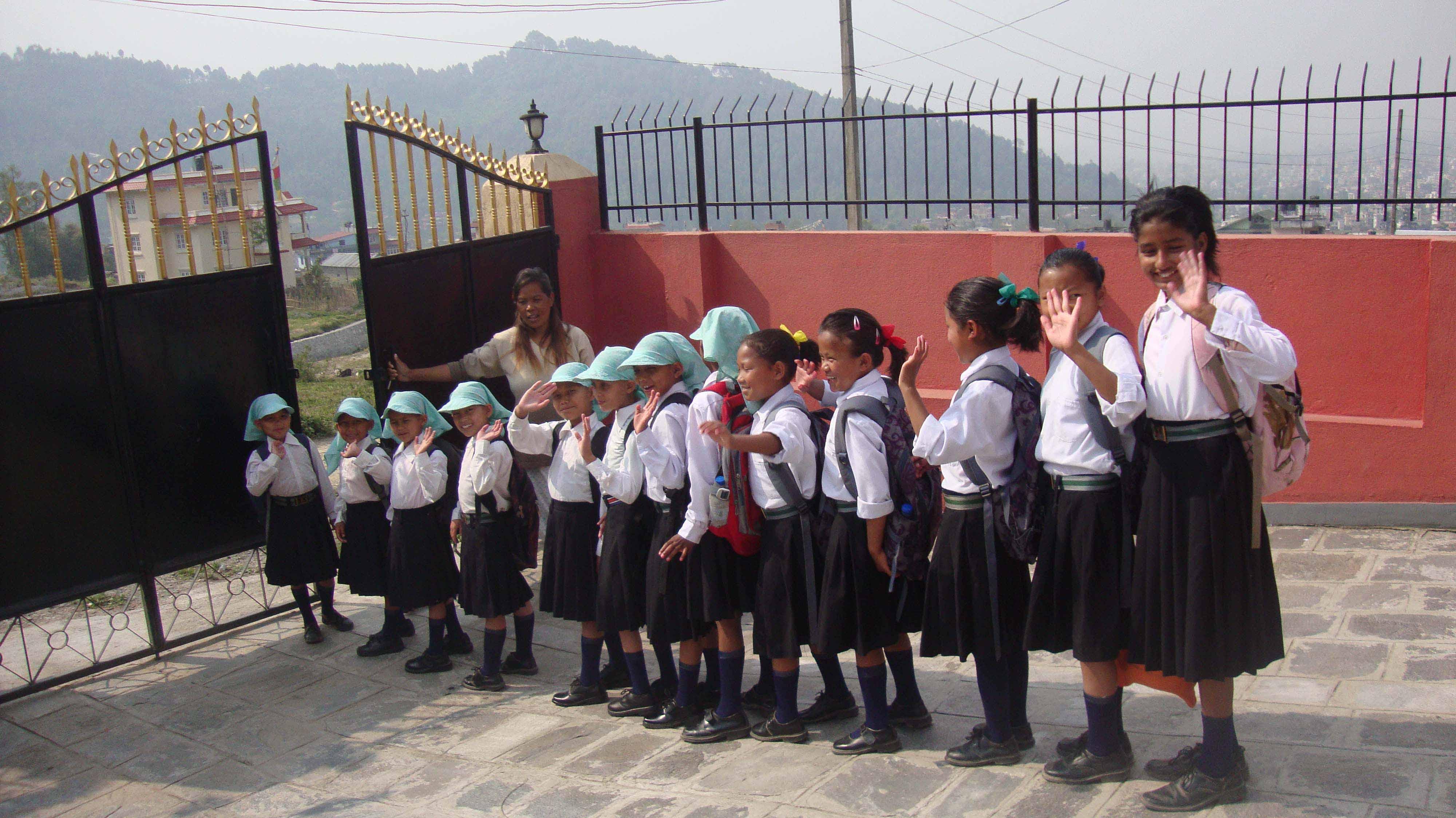 ¿Qué quieren ser las niñas de Katmandú en el futuro?
